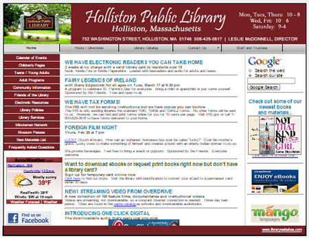 Holliston Public Library